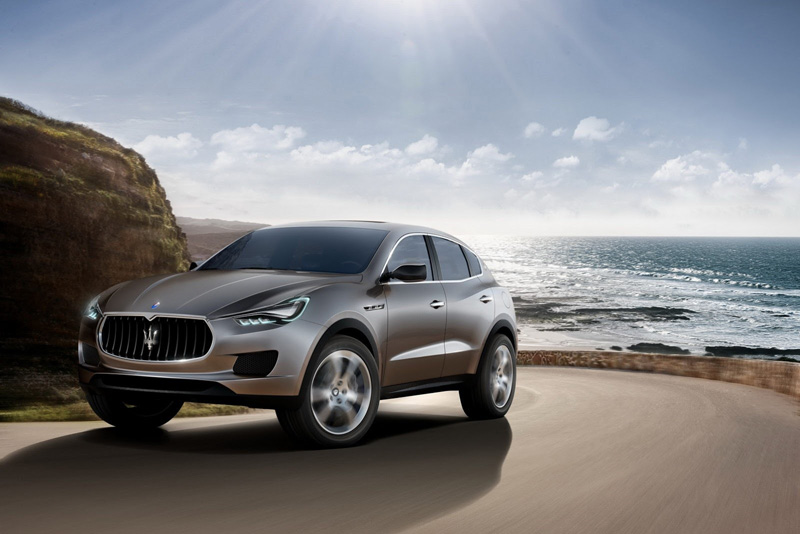 Maserati Levante, el SUV de lujo del tridente