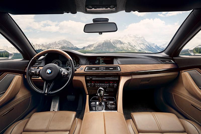 BMW Pininfarina Gran Lusso Coupé habitáculo