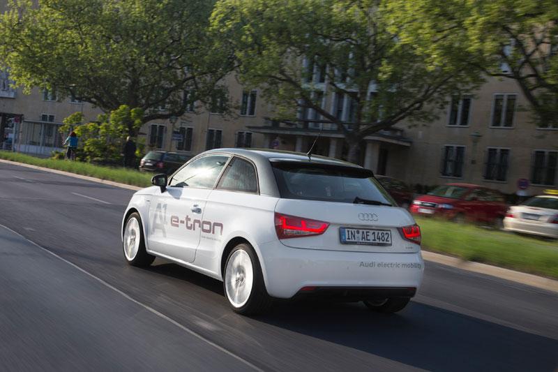 Los modelos e-tron de Audi