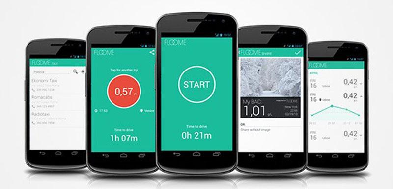 The Floome, el alcoholímetro en tu smartphone