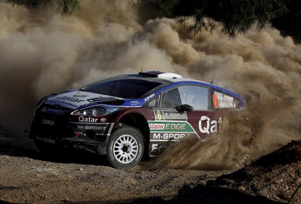 Rallye Acrópolis 2013: sábado
