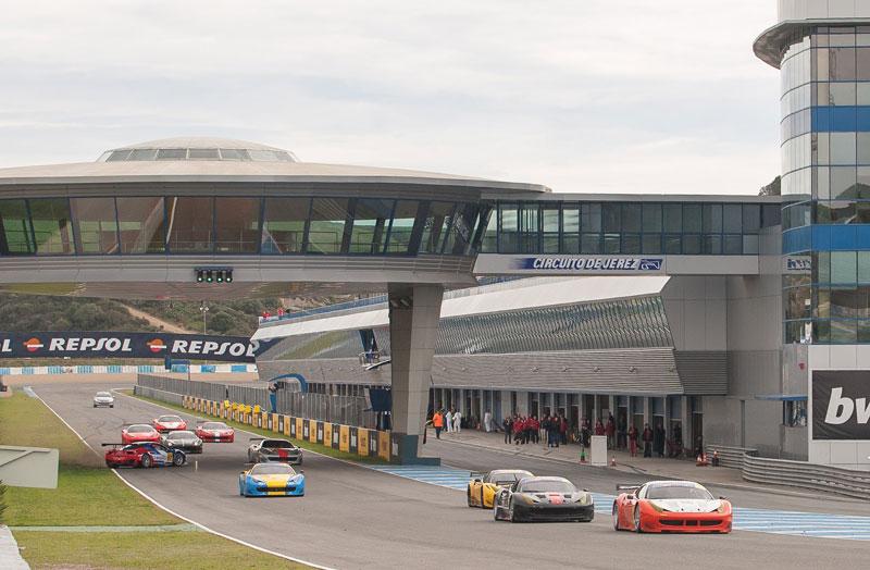 Internacional de Gran Turismo y European Fórmula 3 en Jerez