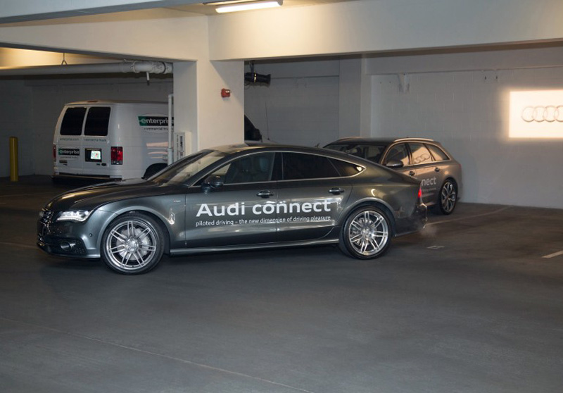 Audi Connect Wireless Payment