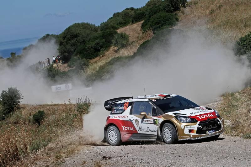 Rallye de Cerdeña-Italia, primera etapa