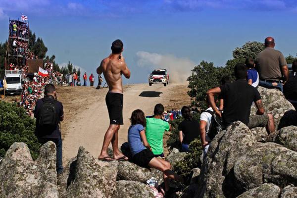 Rallye de Cerdeña-Italia, segunda etapa