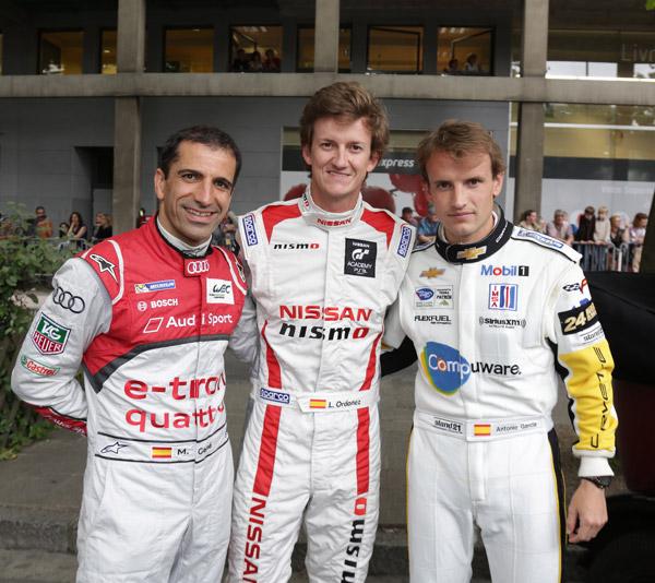 Los tres españoles de las 24 Horas de Le Mans 2013