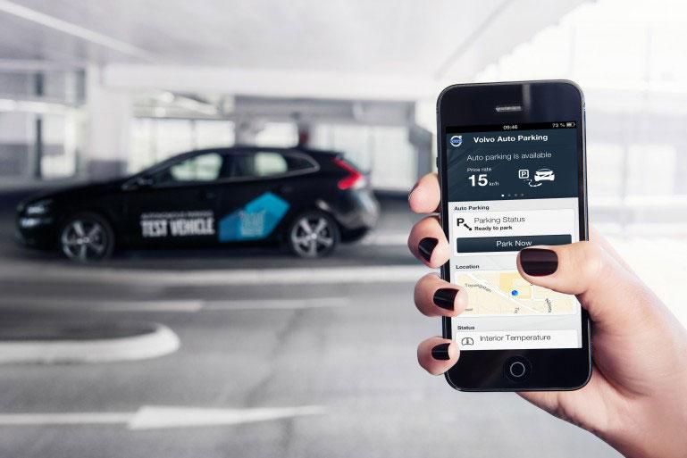 Volvo y el coche que aparca solo