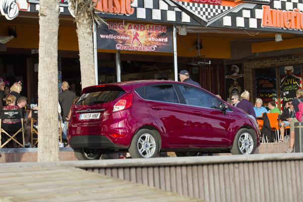 Prueba Ford Fiesta 1.6 TDCi/95, de fiesta