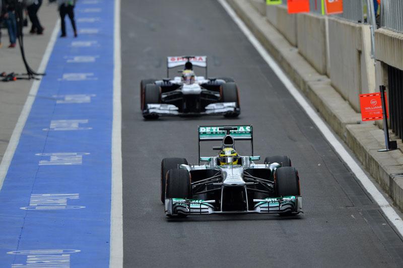 Rosberg en Silverstone