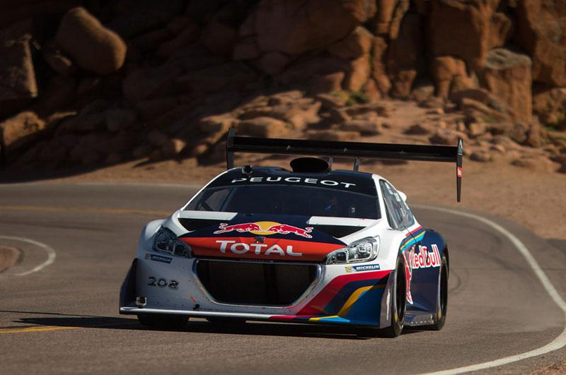 Sébastien Loeb, record en Pikes Peak