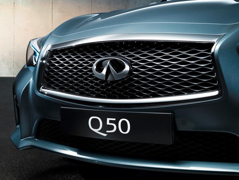 Infiniti Q50, el diseño de los nuevos Infiniti