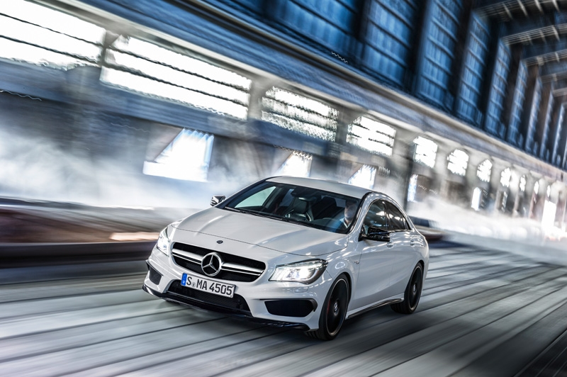Mercedes CLA 45 AMG, a la venta en septiembre