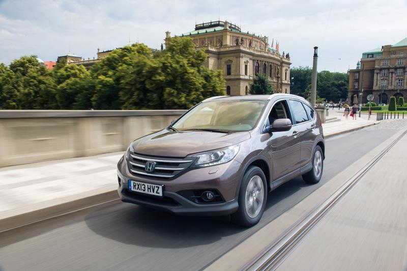 Honda CR-V 1.6 i-DTEC, un SUV muy eficiente