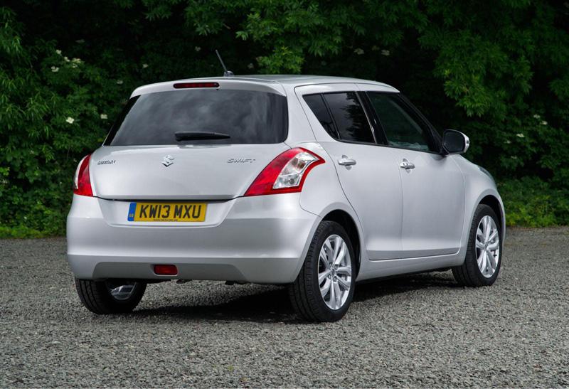 El Suzuki Swift 2013 se pone al día