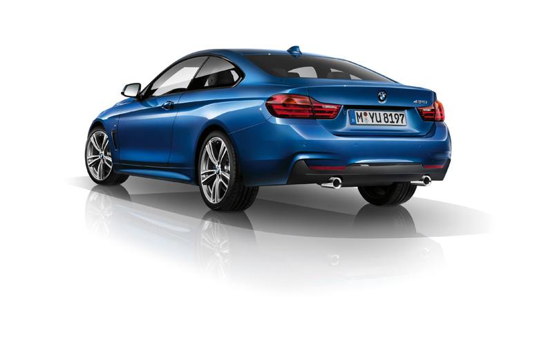 BMW Serie 4 con Kit M, pura deportividad