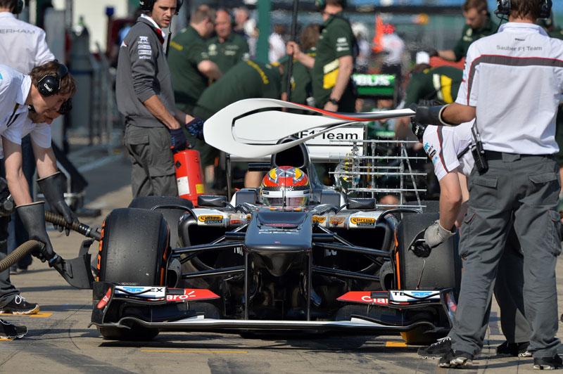 Tests de Jóvenes Pilotos en Silverstone