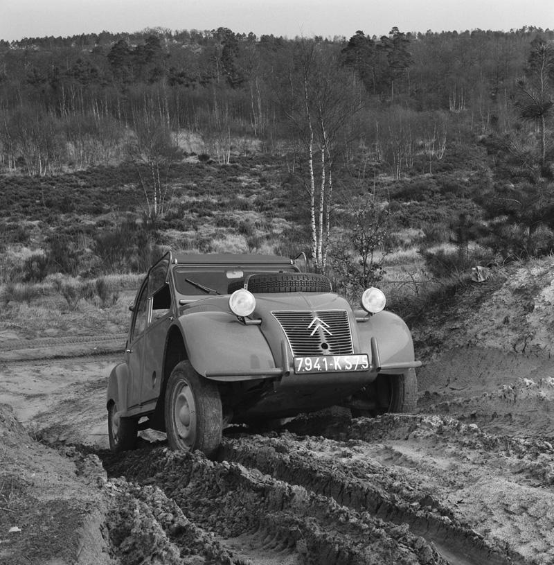 Citroën 2CV, un clásico de leyenda