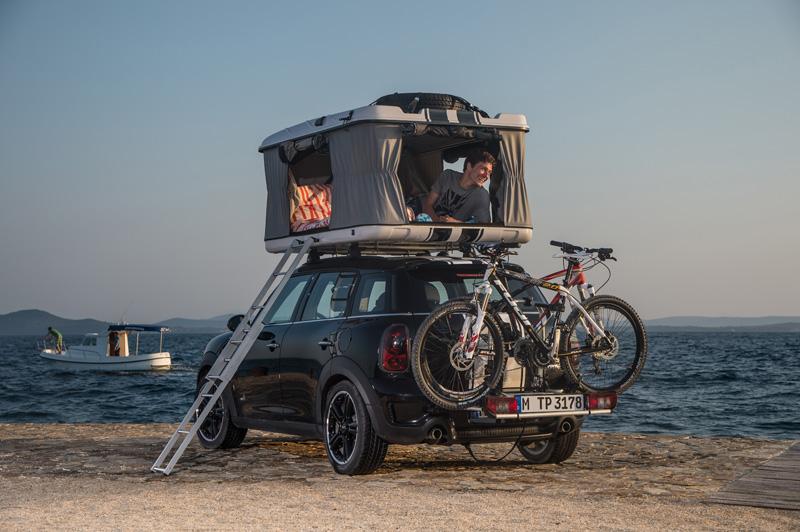 Los Mini para ir de camping