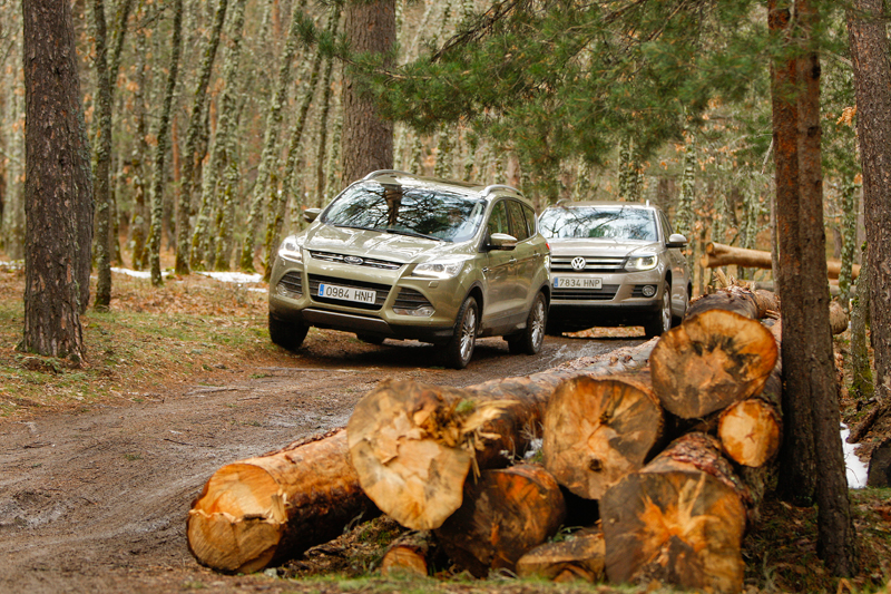 Comparativa: Ford Kuga AWD vs VW Tiguan 4x4