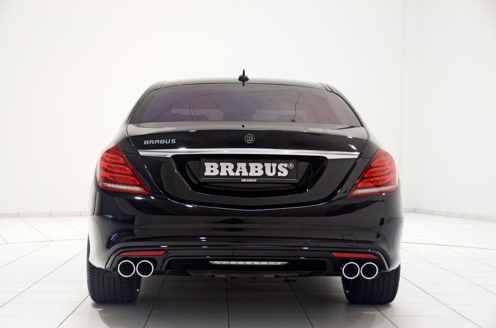 Brabus mete mano al Clase S 2013