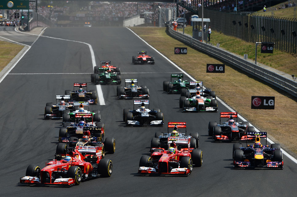 GP Hungría: la carrera