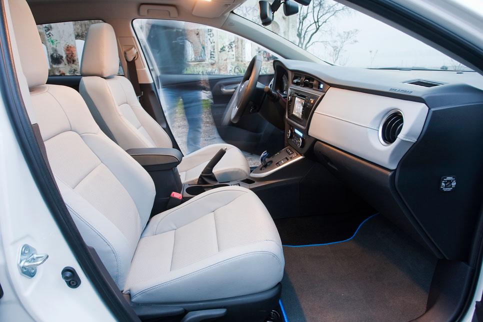 Prueba: Toyota Auris Hybrid