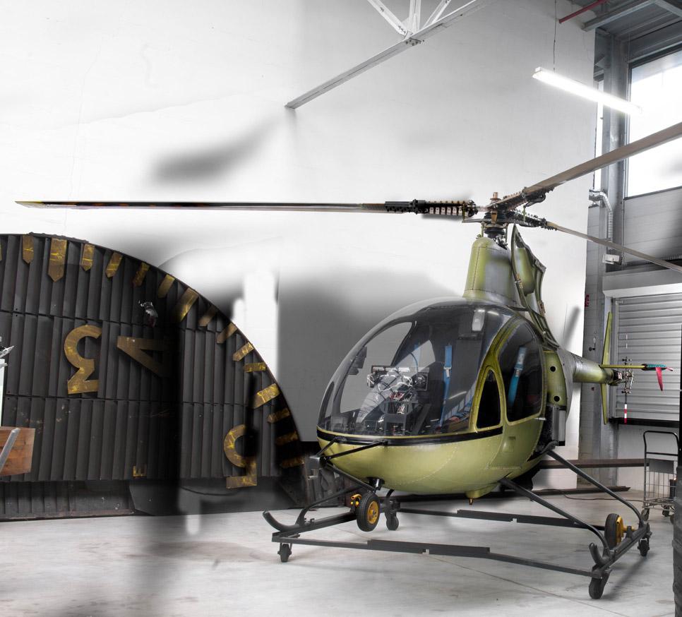 Helicóptero Citroën RE 210