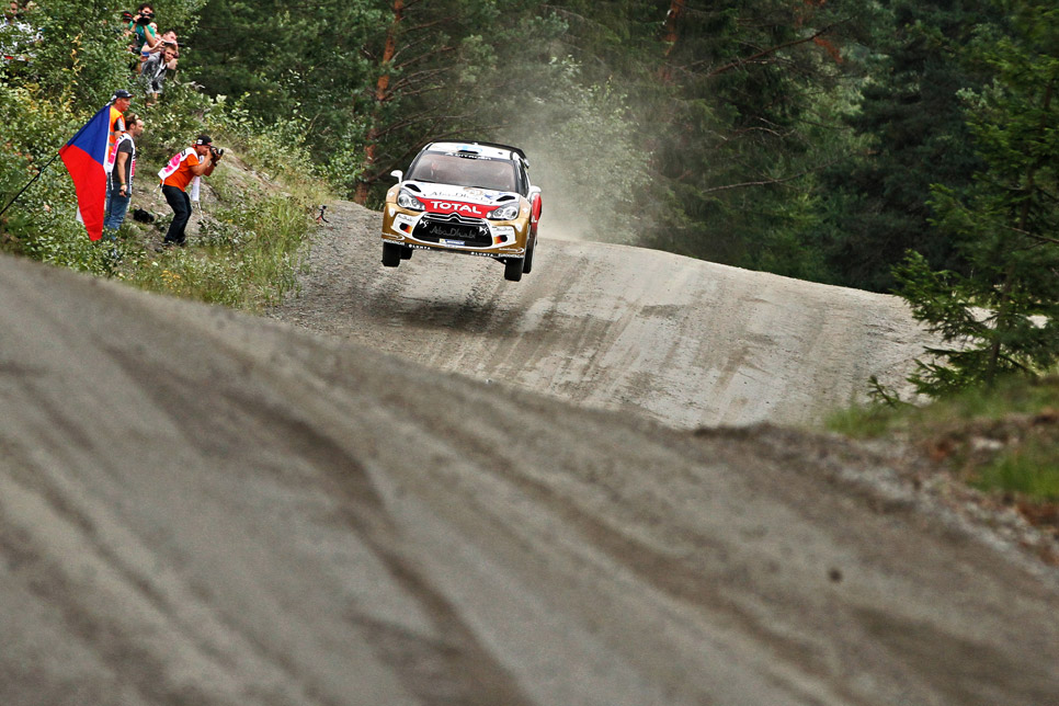 Rallye de Finlandia, primera etapa