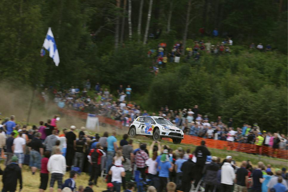 Rallye de Finlandia, segunda etapa