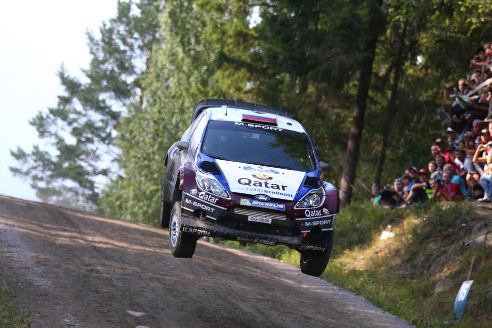 Rallye de Finlandia, tercera etapa