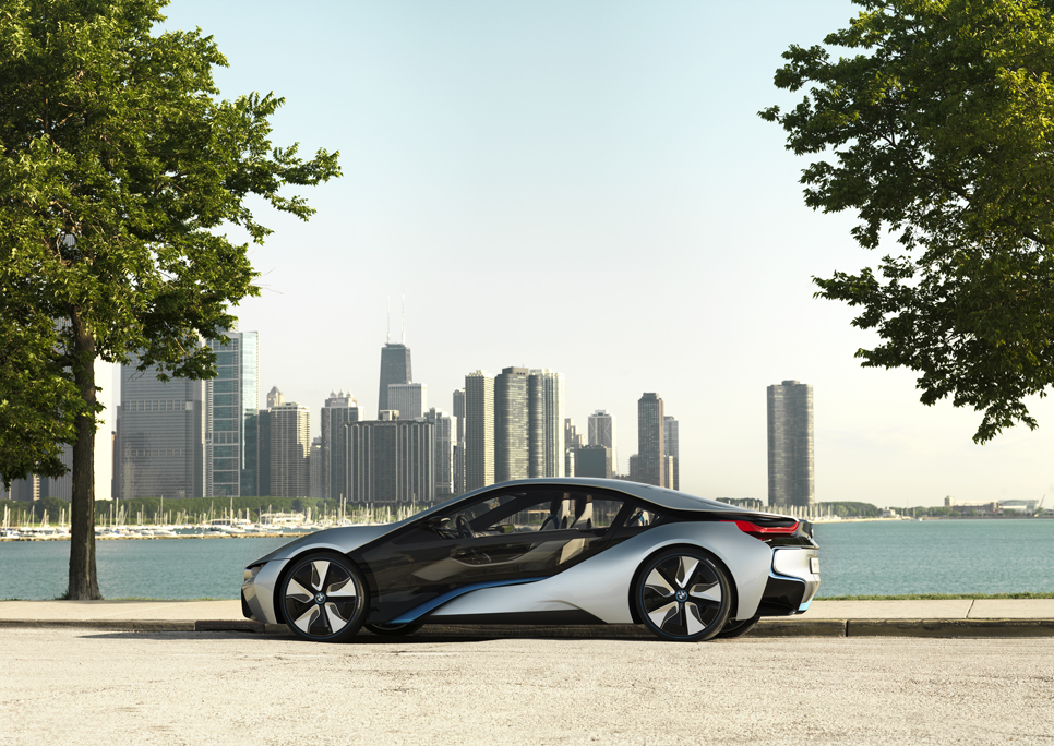 BMW i8, para el Salón del Automóvil de Frankfurt