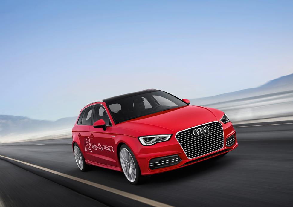 Audi A3 e-tron, híbrido de 1,5 l/100 km