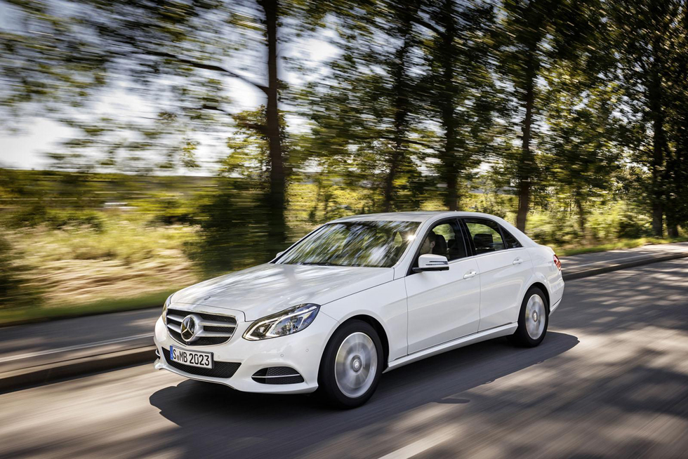 Mercedes Clase E de gas natural