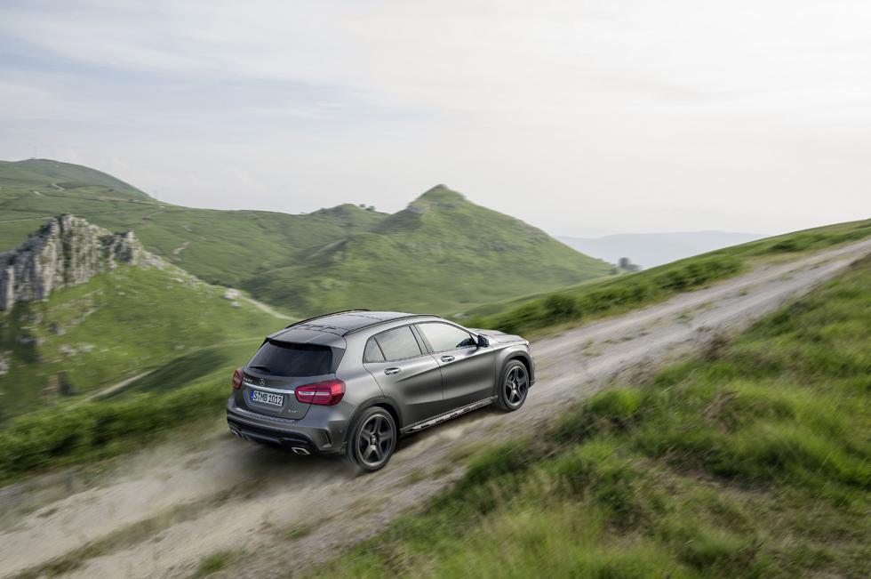 Mercedes GLA SUV compacto