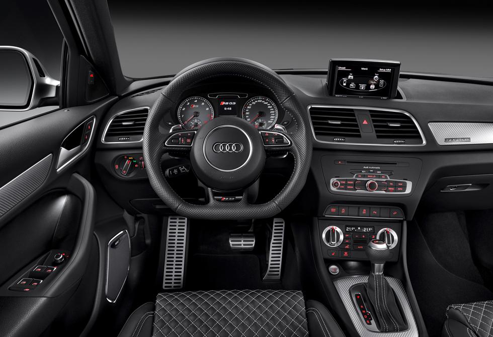 Audi RS Q3, mini SUV a 310 CV