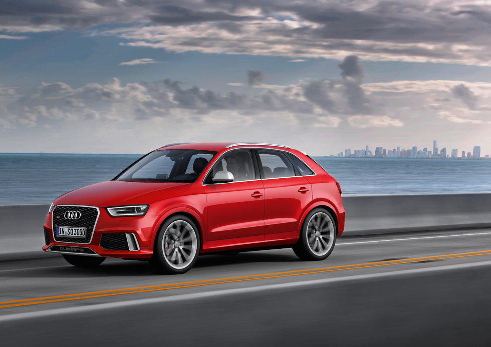 Audi RS Q3, mini SUV a 310 CV