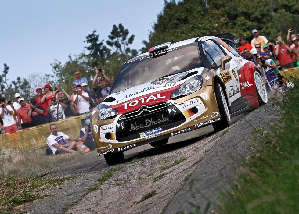 Rallye de Alemania 2013, etapa del jueves