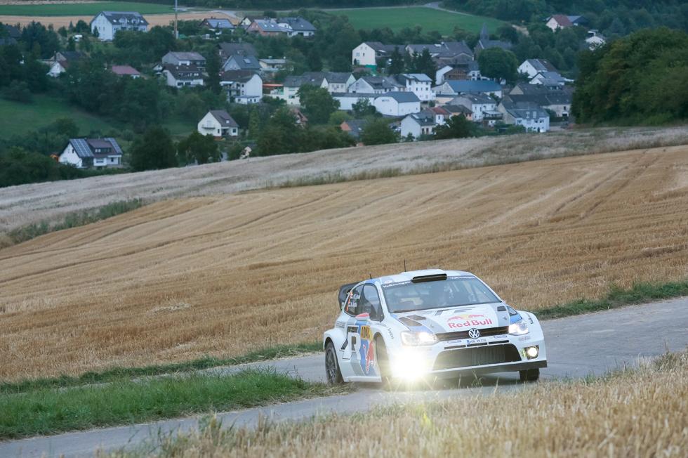 Rallye de Alemania 2013, etapa del viernes