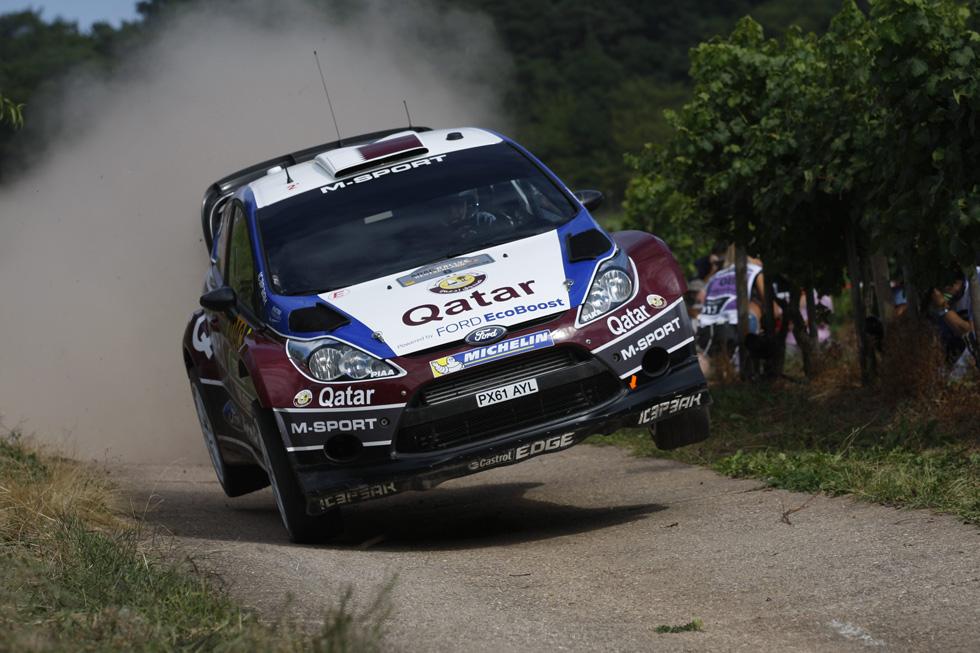 Rallye de Alemania 2013, etapa del sábado