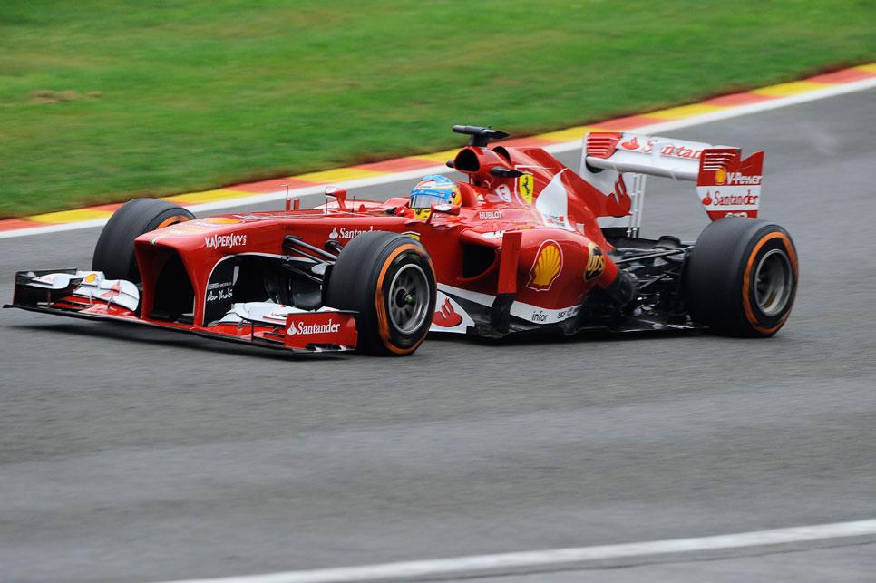 GP Bélgica: la clasificación