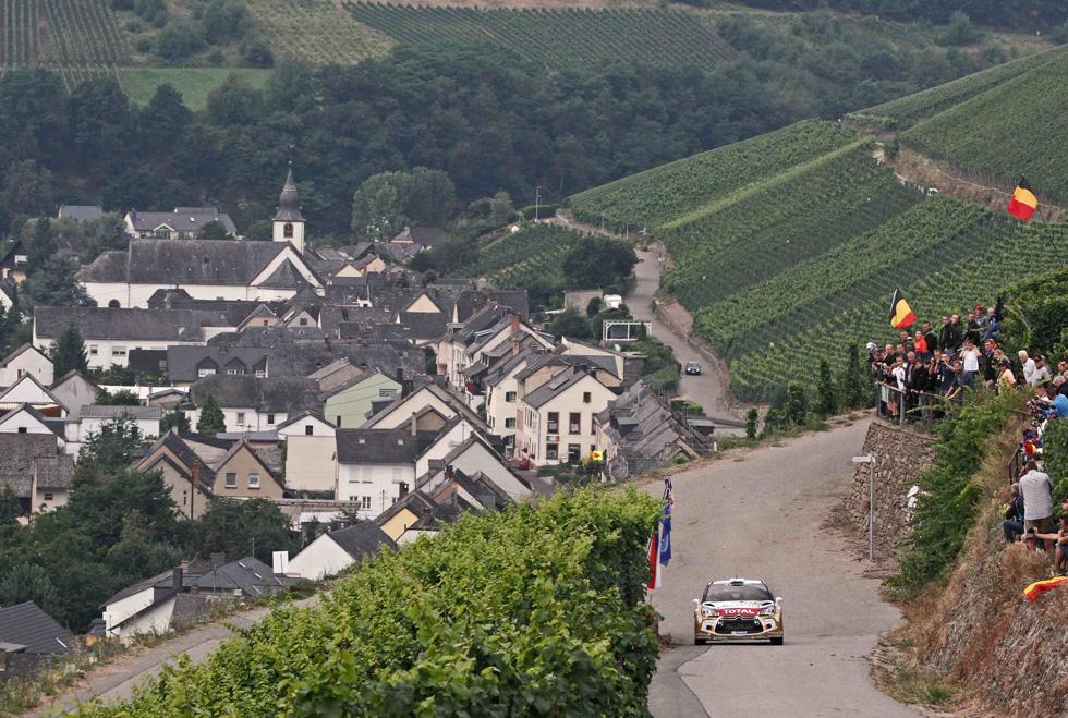 Rallye de Alemania, etapa del sábado final