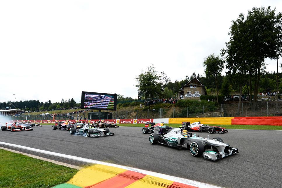 GP Bélgica: la carrera