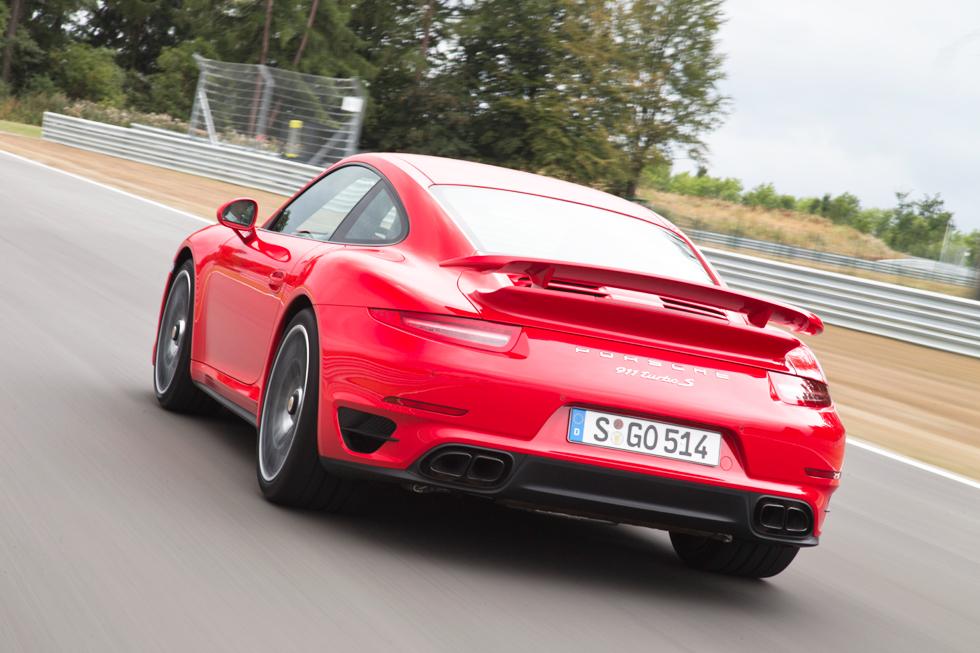 Nuevo Porsche 911 Turbo 2013, prueba