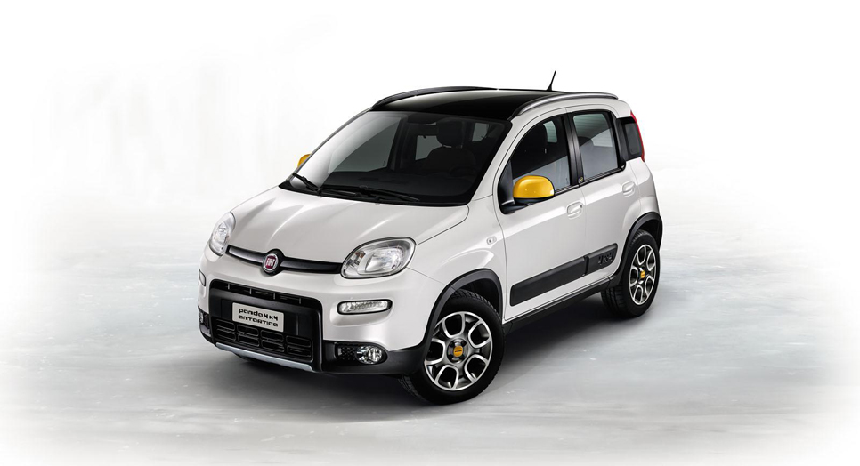 Fiat Panda 4x4 Antartica y Freemont Black Code