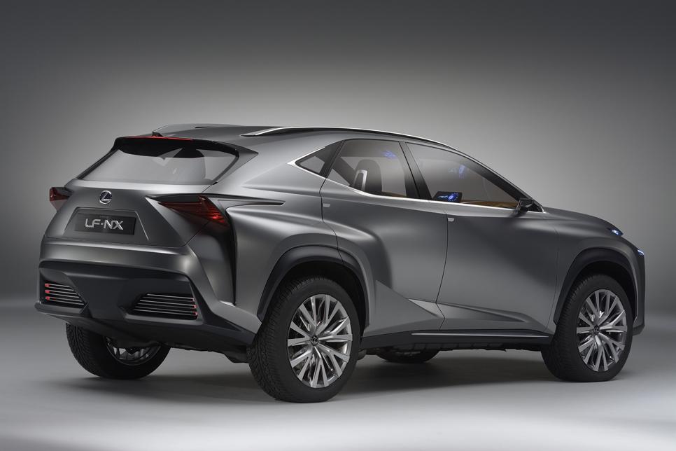 Lexus LF-NX Crossover Concept