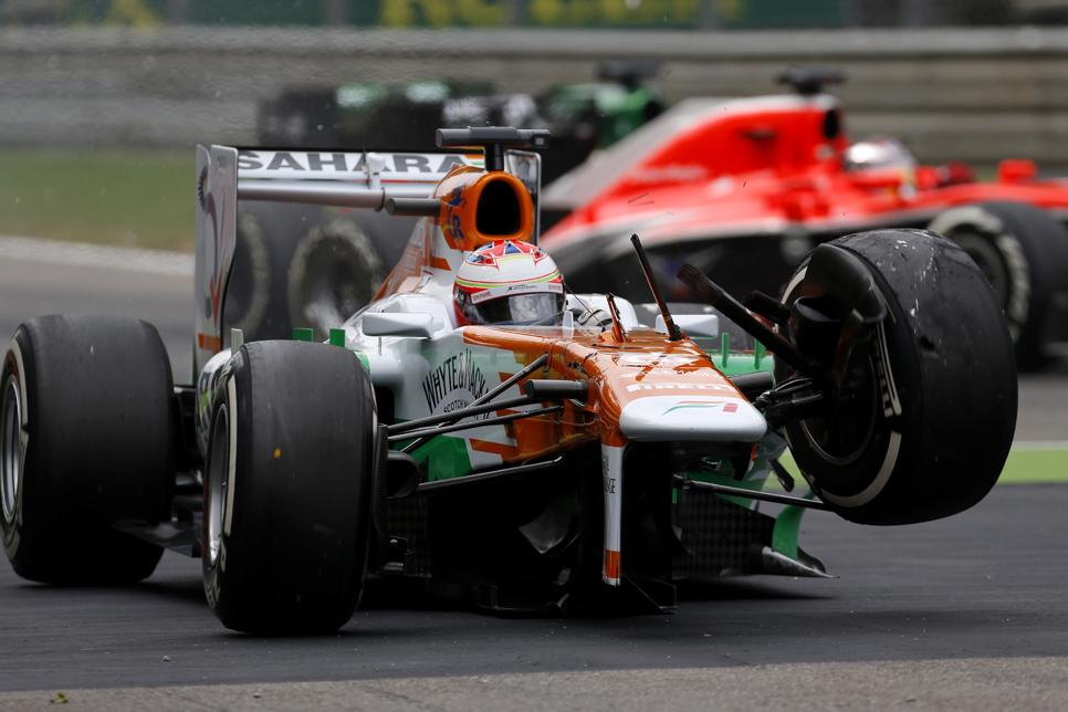 Salida GP Italia