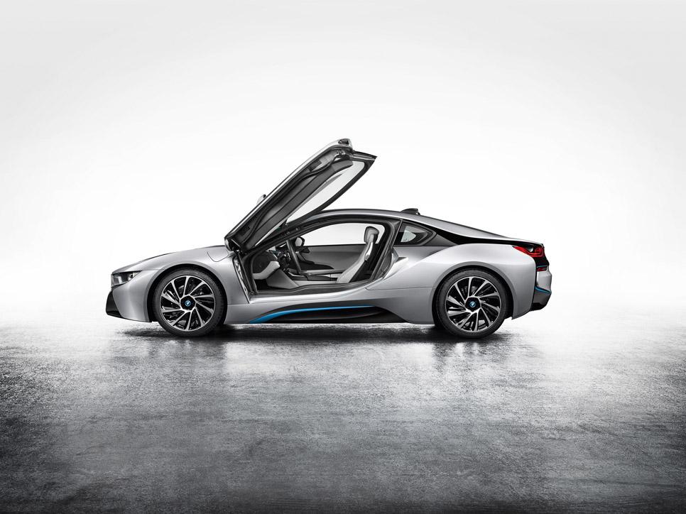 BMW i8, sin camuflaje