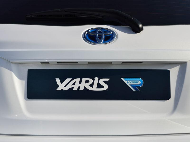 Toyota Yaris Hybrid R, en Frankfurt