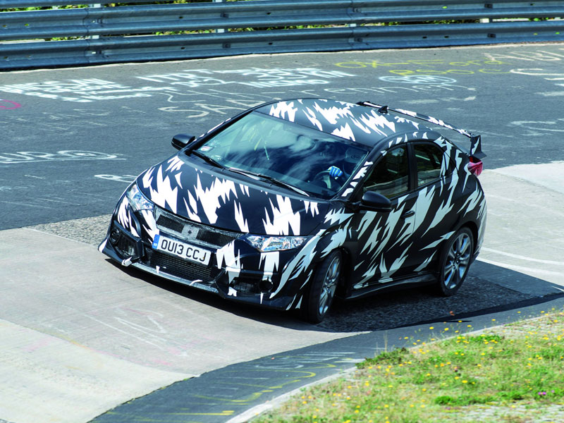 Honda Civic Type-R, primeras imágenes