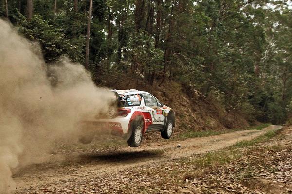 Rallye de Australia - Domingo